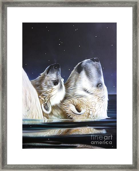 Little Star Framed Print
