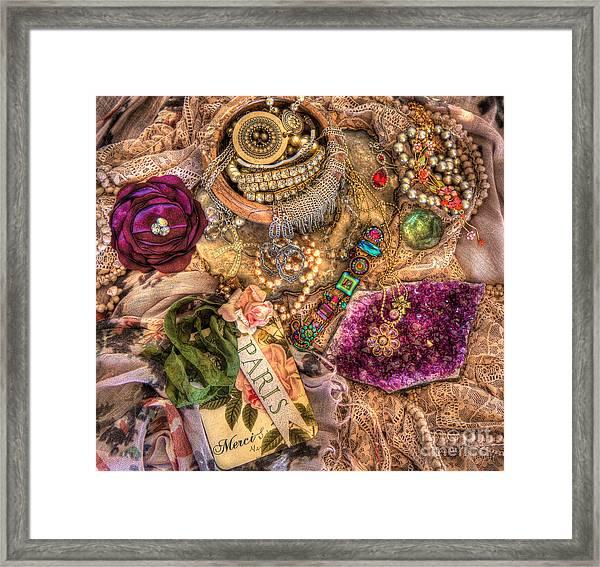 Little Treasures Framed Print