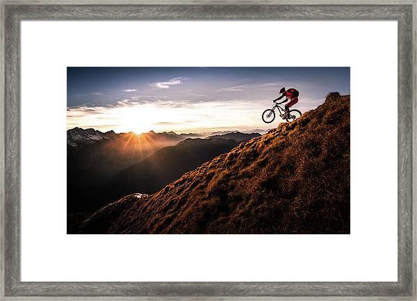 Live The Adventure Framed Print