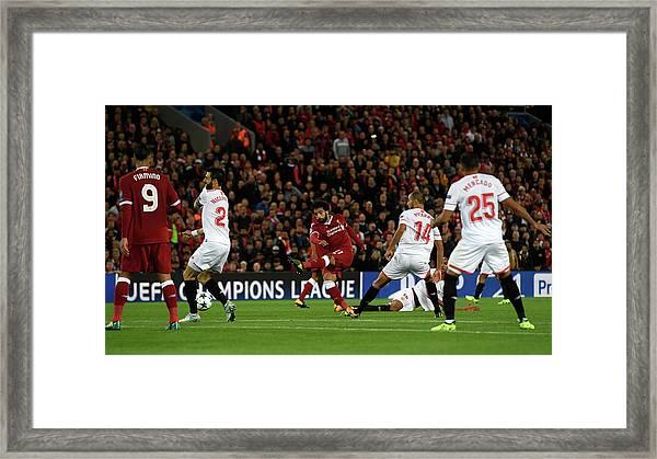 Liverpool Fc V Sevilla Fc - Uefa Framed Print