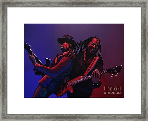Living Colour Painting Framed Print