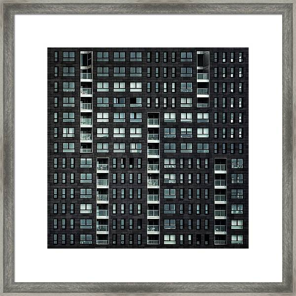 Living In The City Framed Print