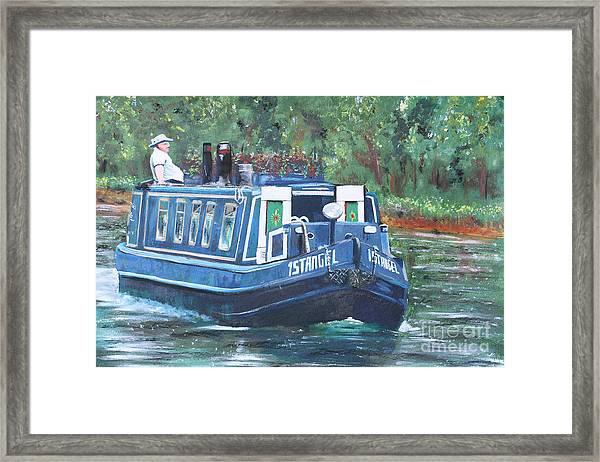 Living On The River Framed Print