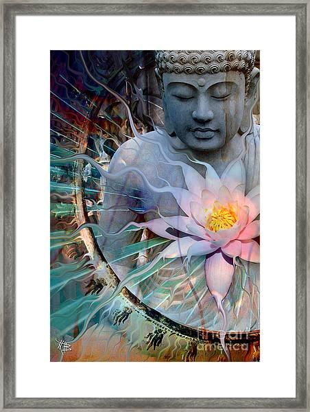 Living Radiance Framed Print