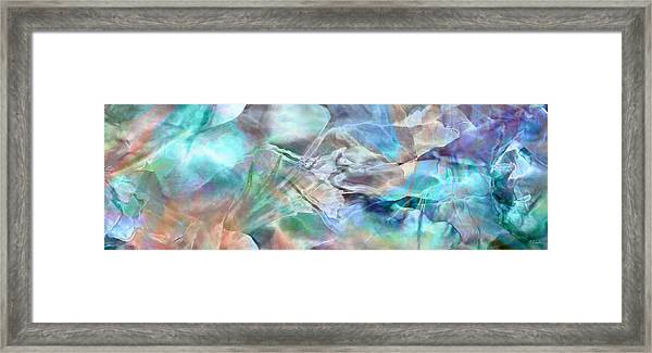 Living Waters - Abstract Art Framed Print