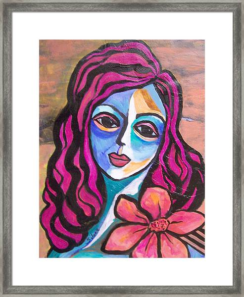 Llima Framed Print