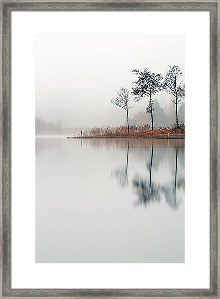 Loch Ard Reflections Framed Print