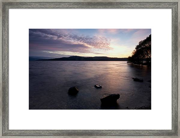 Loch Lomond Sunrise Framed Print