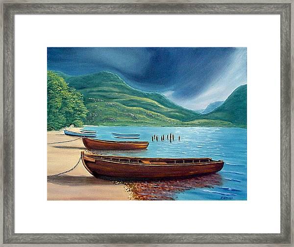 Loch Maree Scotland Framed Print