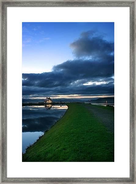 Lock House Framed Print