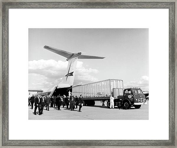 Lockheed C-141 Starlifter Framed Print by Underwood Archives