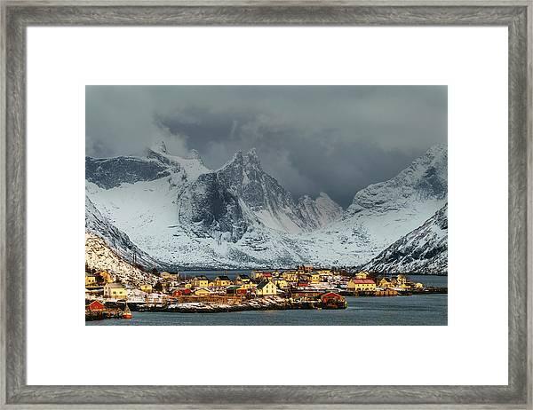 Lofoten Light Framed Print