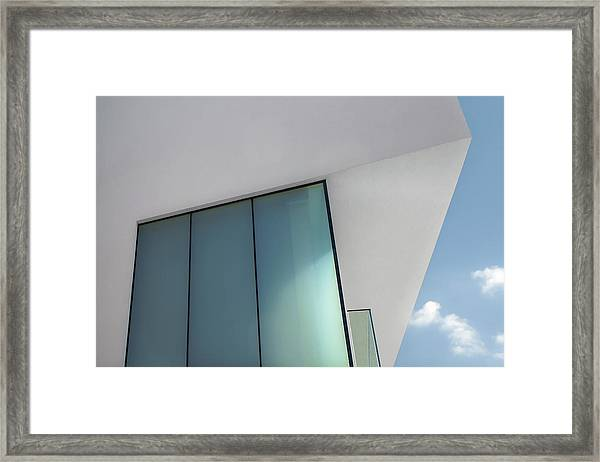 Loft With A View Framed Print by Gilbert Claes