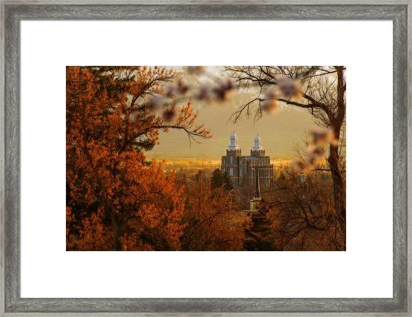 Logan Temple Framed Print