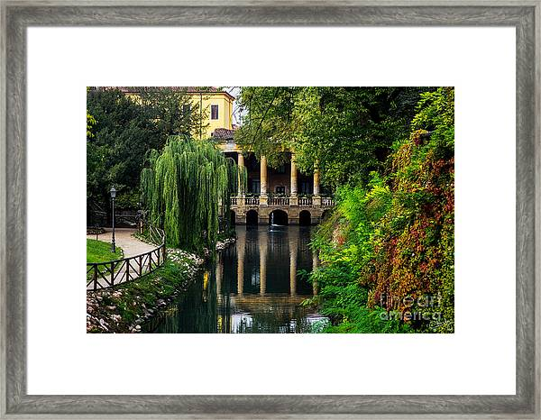 Loggia Valmarana On The Seriola Framed Print