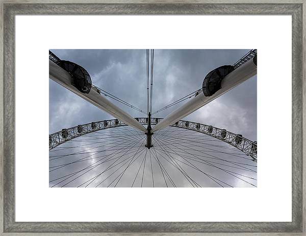 London Eye Detail Framed Print