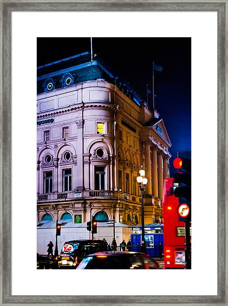 London Trocadero Framed Print