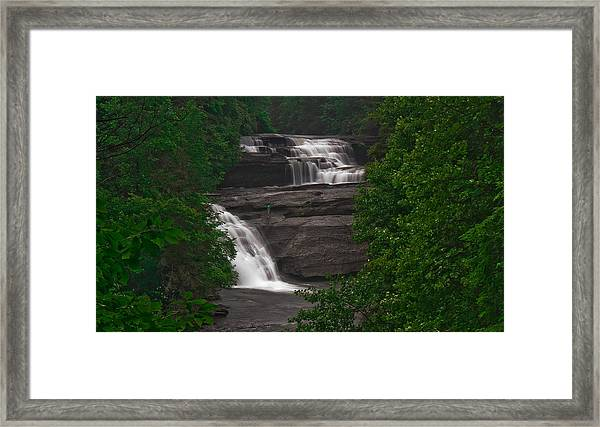 Lonely Fall Framed Print