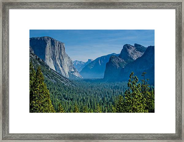 Lonesome Valley Framed Print