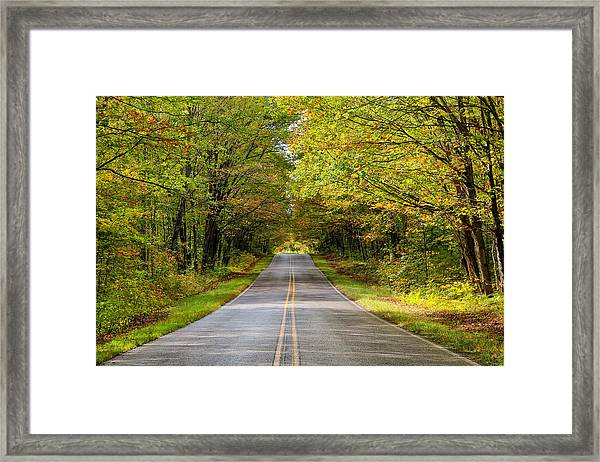 Long And Winding Road   2 Framed Print