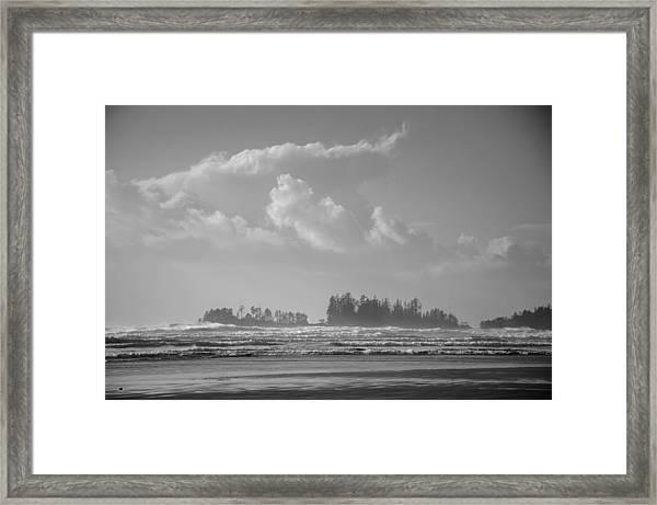 Long Beach Landscape  Framed Print