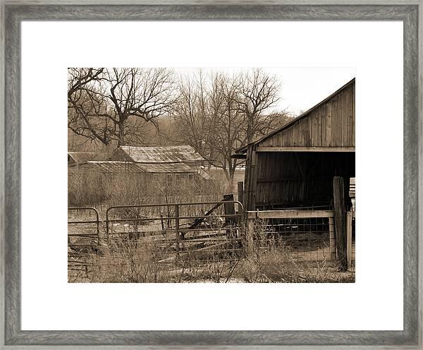 Long Forgotten Framed Print