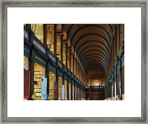 Long Room Framed Print