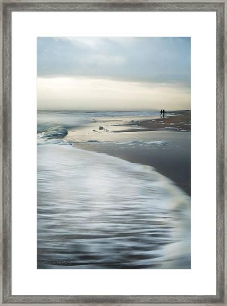 Long Walks Framed Print