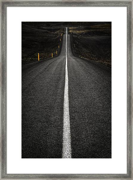 Long Way To Nowhere Framed Print