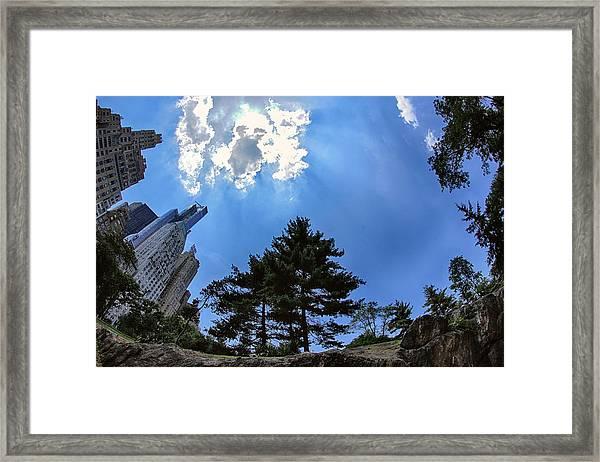 Long Way Up Framed Print