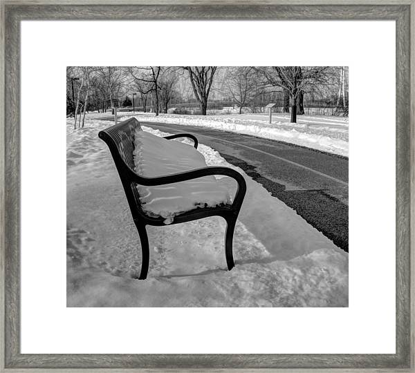 Longing For Spring Framed Print