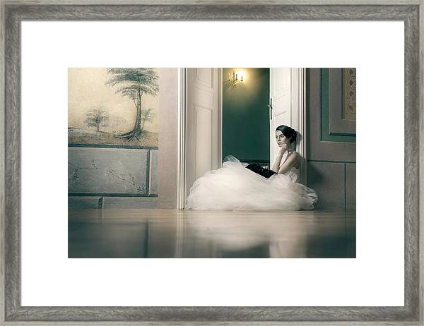 Longing Framed Print by Piotr Werner
