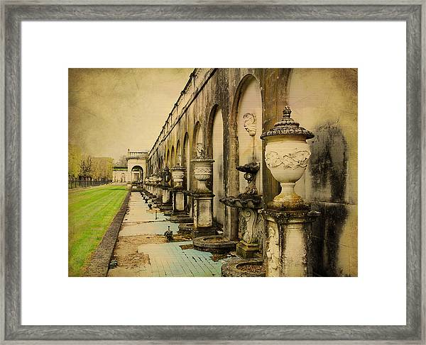 Longwood Gardens Fountains Framed Print