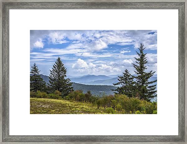 Looking East Framed Print