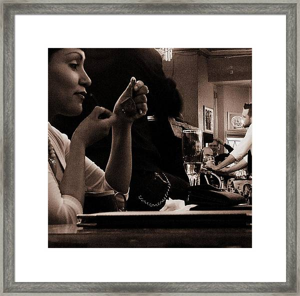 Looking For Love In All The Wrong Places Framed Print