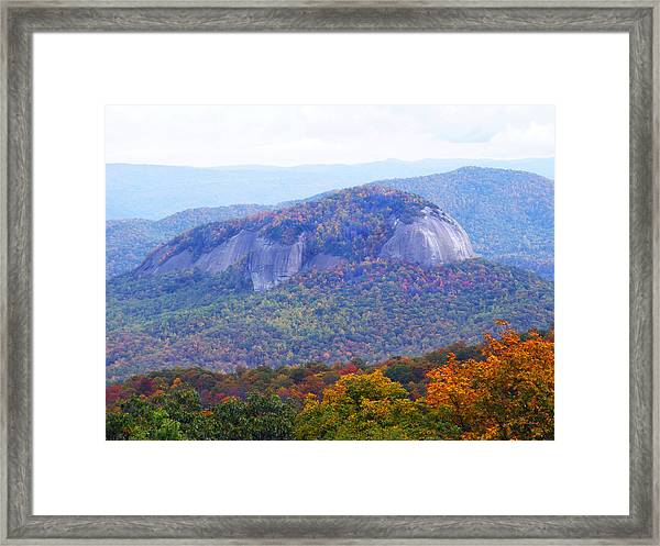 Looking Glass Rock 2 Framed Print