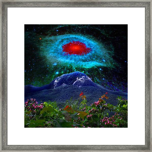 Looking Glass Rock Event 1 Framed Print