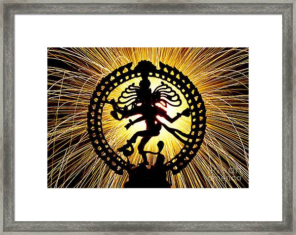 Lord Of The Dance Framed Print