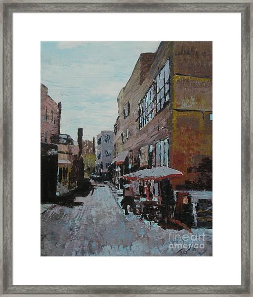Loring Corners Framed Print