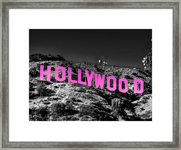 Framed Print featuring the photograph Los Angeles 016 C by Lance Vaughn