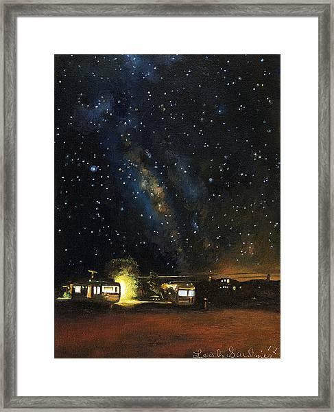 Los Rancheros Rv Park Framed Print