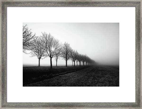 Losing Sight Framed Print by Christophe Staelens