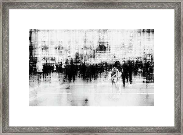Lost Among Ghosts Framed Print by Inna Blar