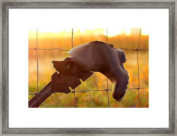 Lost And Found Framed Print