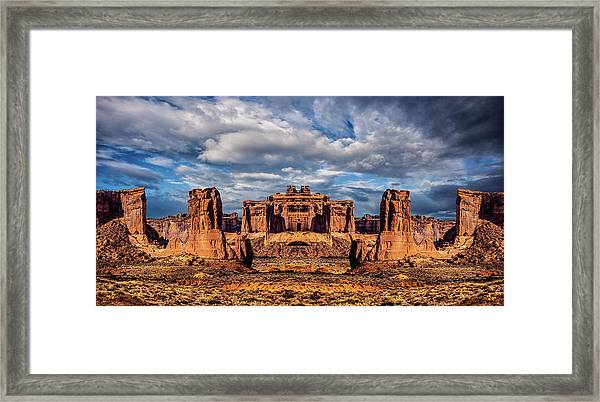 Lost City Of Gold Framed Print by Ron Jones