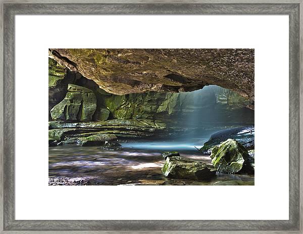 Lost Creek Falls Framed Print