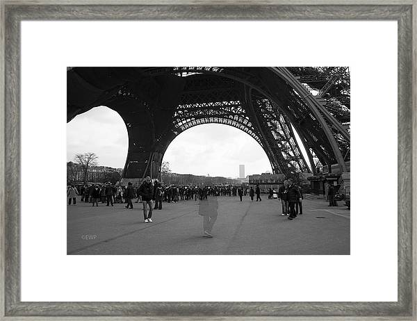 Lost In Paris Framed Print