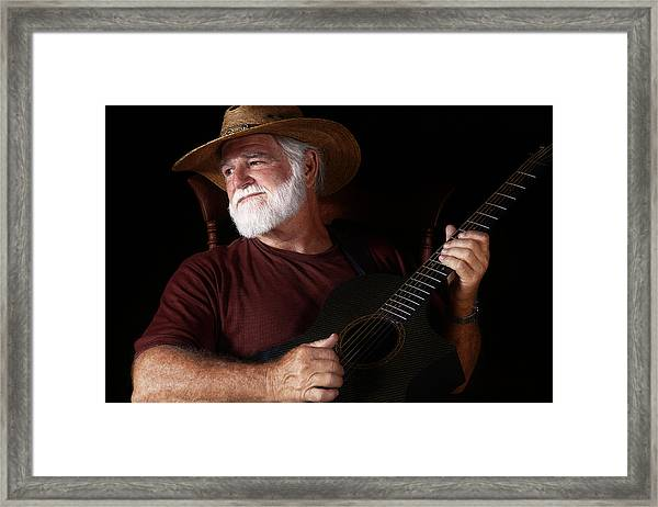 Lost In Song Framed Print