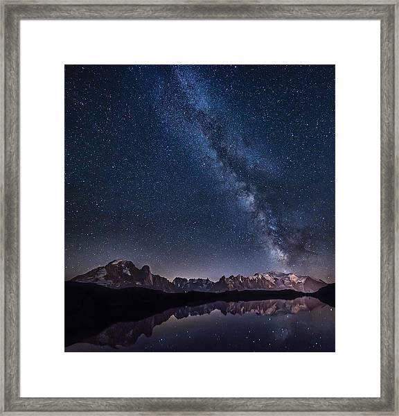 Lost In The Stars Framed Print