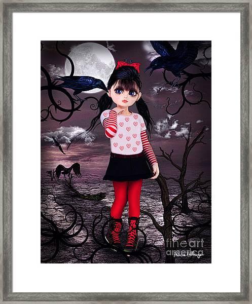 Lost Little Girl Framed Print